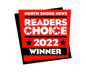 North Shore News Readers Choice Winner 2021